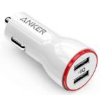 Anker PowerDrive 2 White