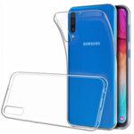 Tactical TPU Case Transparent for Samsung Galaxy A50