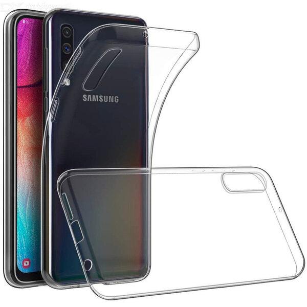 Tactical TPU Case Transparent for Samsung Galaxy A70 (EU Blister)