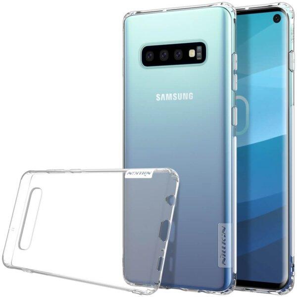 Samsung Galaxy S10 Nillkin nature tpu case - Прозрачен