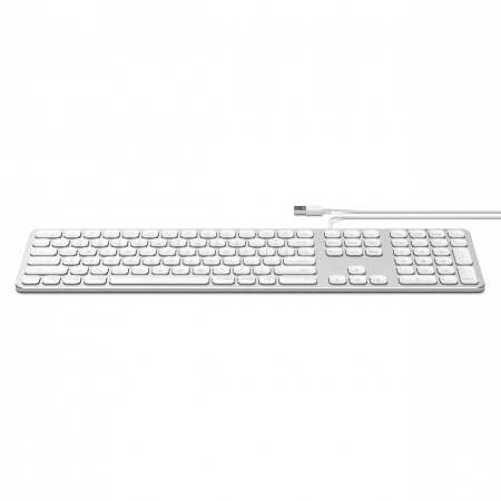 Satechi Aluminum Wired Keyboard for Mac - US - Silver