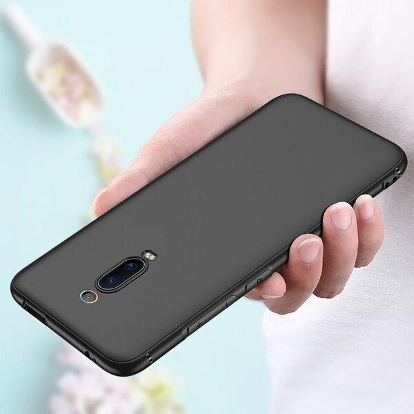 4phones Силиконов калъф Black Matt Xiaomi Mi 9T / Mi 9T Pro