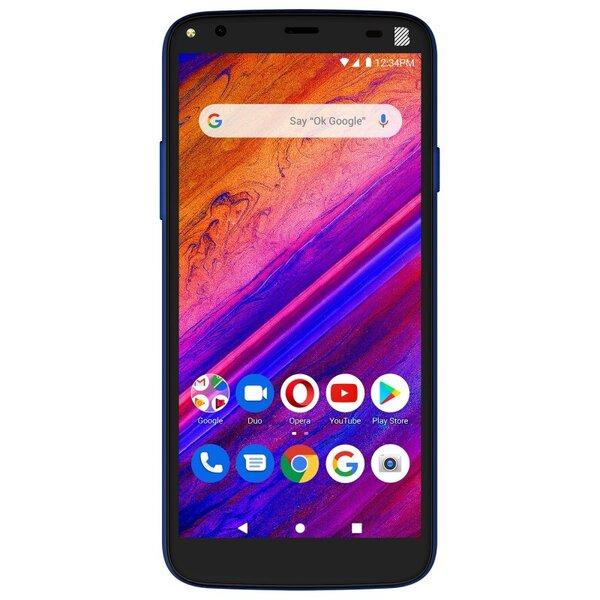 Смартфон BLU G5, Dual Sim, 32GB, 2GB RAM, 4G, Metallic Twilight Blue