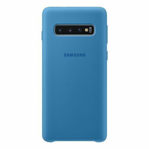 Samsung Galaxy S10 Blue Silicone Cover