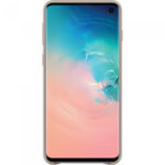 Samsung Galaxy S10 Grey Leather Protective Cover