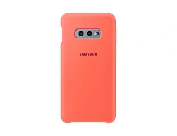 Samsung Galaxy S10e Berry Pink Silicone Cover