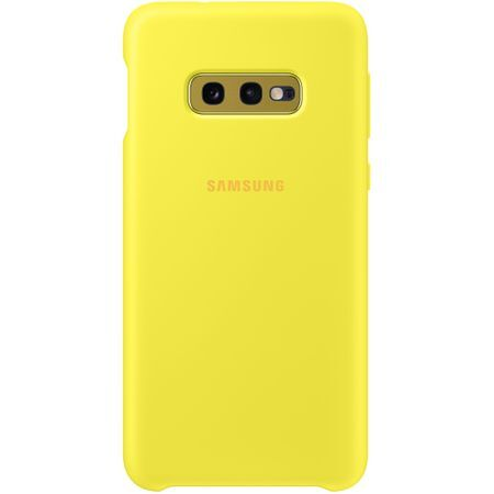 Samsung Galaxy S10e Yellow Silicone Cover