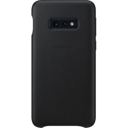 Samsung Galaxy S10e Grey Leather Protective Cover