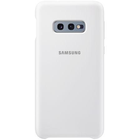 Samsung Galaxy S10e White Silicone Cover