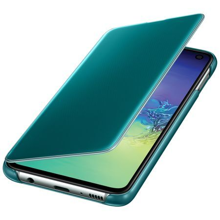 Калъф Clear View Cover от Samsung Galaxy S10e - Green