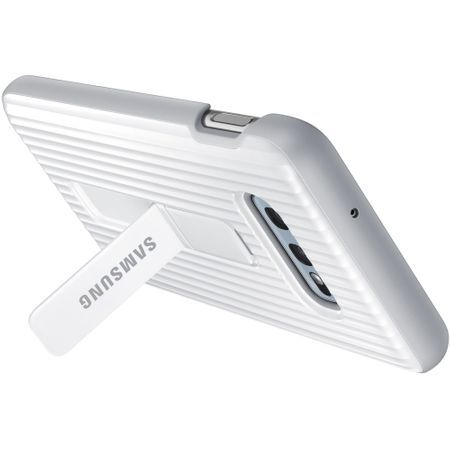 Samsung Galaxy S10e White Protective Standing Cover