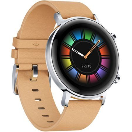 Часовник Smartwatch Huawei Watch GT 2 Classic 42mm, Leather Beige
