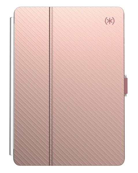 Калъф от  Speck за iPad7 (10.2 inch - 2019) BALANCE FOLIO CLEAR (ROSE GOLD WOVEN METALLIC/CLEAR)