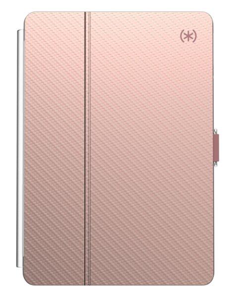 Калъф Speck iPad7 (10.2 inch - 2019) BALANCE FOLIO CLEAR (ROSE GOLD WOVEN METALLIC/CLEAR)