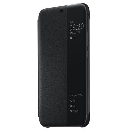 Huawei Mate 20 Lite Smart View Flip Cover black