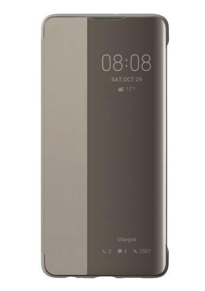 Huawei Smart View Flim Cover - Huawei P30 brown