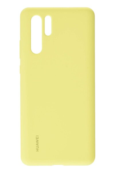 Калъф Huawei P30 Pro Vogue Silicone Case Yellow
