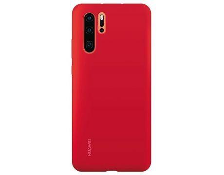 Оригинален гръб Huawei P30 Pro Silicone Car Case Red