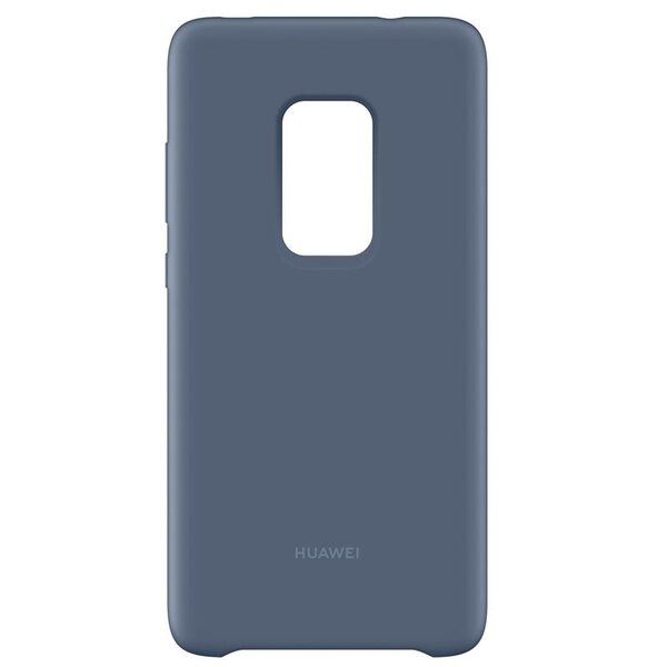Huawei C-Hima-rubber case, Silicon Protective Case, Light Blue