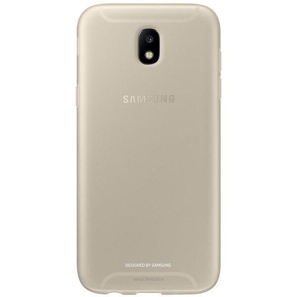 Оригинален кейс за Samsung J5 2017 Jelly cover златен