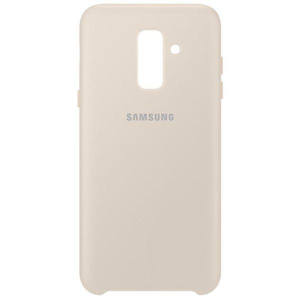 Калъф от Samsung за Galaxy A6 Plus Dual Layer Cover Gold