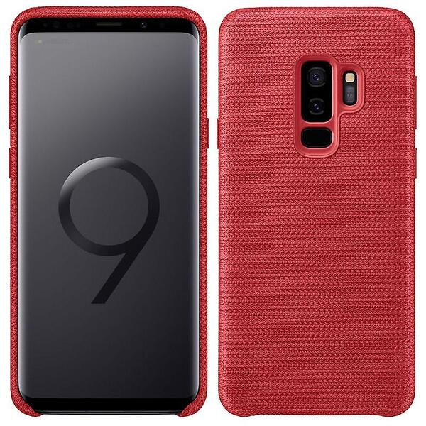 Samsung Galaxy S9 + Plus Case Cover Hyperknit Red