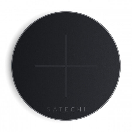 Satechi Aluminum TYPE-C Fast Wireless Charger V2 - Space Gray