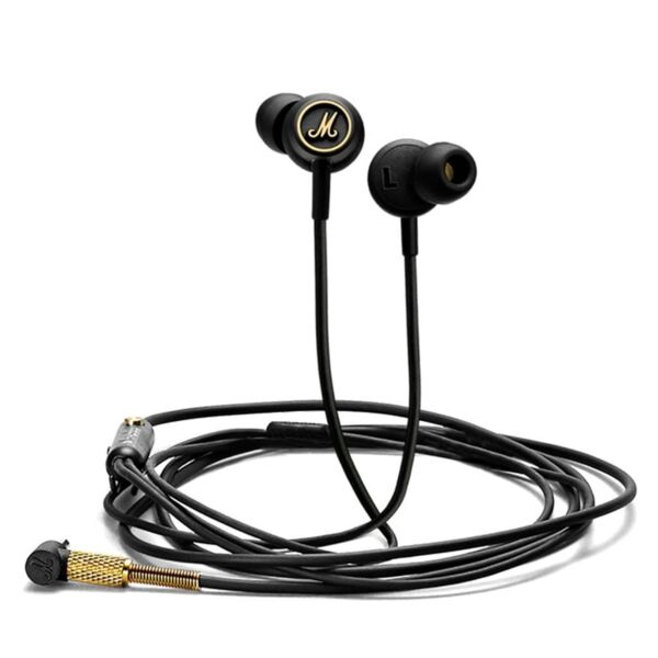 Marshall Mode EQ In-Ear Headphones Black/Brass