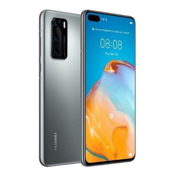 Смартфон Huawei P40 Pro, Dual SIM, 128GB, 8GB RAM, Silver Frost