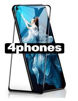 4phones Huawei NOVA 5T Full Tempered glass Black