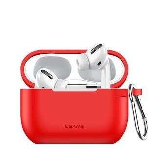 Silicon Protective Cover for Airpods Pro Red