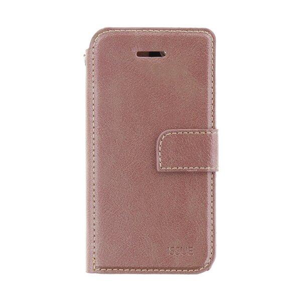 Molan Cano Book case for Huawei NOVA 5T Rose Gold