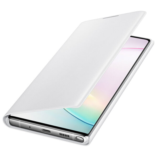 Samsung LED View Cover with LED display for Samsung Galaxy Note 10 Plus white