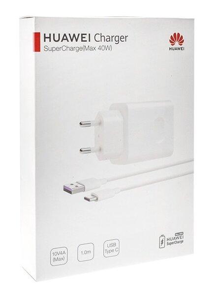 Оригинално зарядно Huawei HW-100400E00 Super Charge + TYPE C CP84 BOX