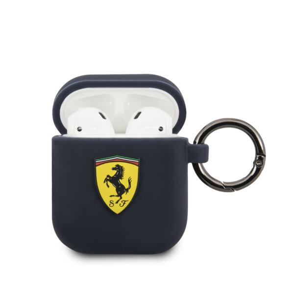 Ferrari Silicone Cover for Airpods Navy (EU Blister)