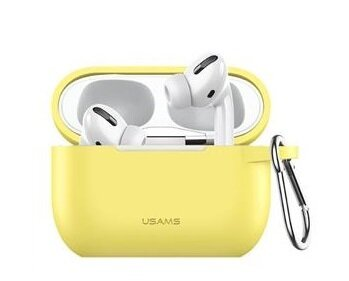 USAMS BH568 Silicone Case for AirPods PRO Yellow (EU Blister)