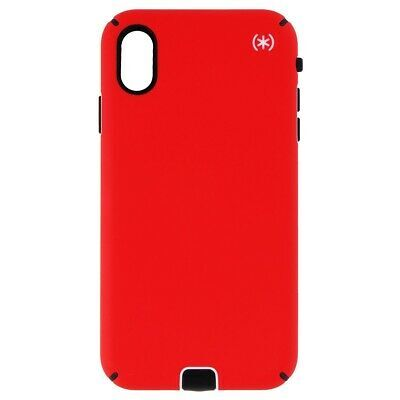 Калъф от Speck за iPhone XS Max PRESIDIO SPORT (HEARTRATE RED/SIDEWALK GREY/BLACK)