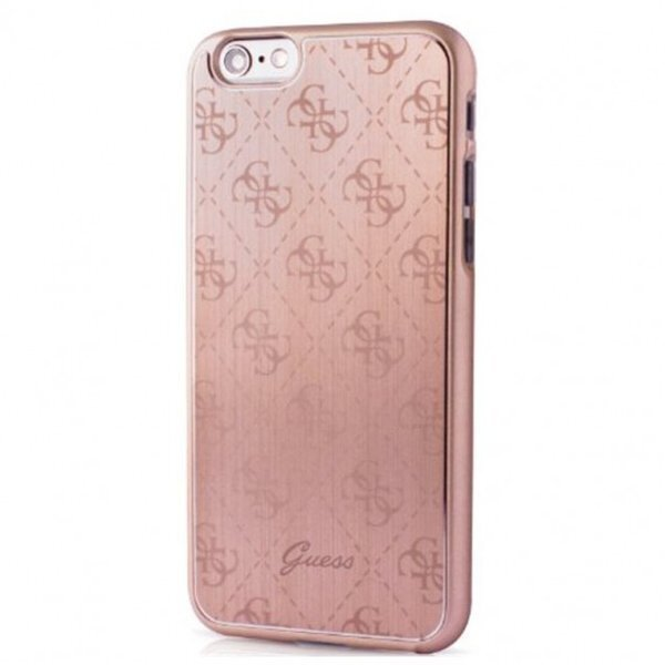 Guess Aluminium Case for iPhone 5/5S/SE Rose Gold