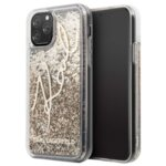 Karl Lagerfeld Glitter Signature Cover for iPhone 11 Pro Gold (EU Blister)