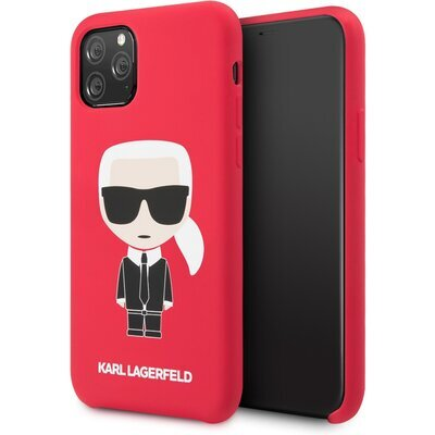 Karl Lagerfeld Iconic Body Kryt pro iPhone 11 Red