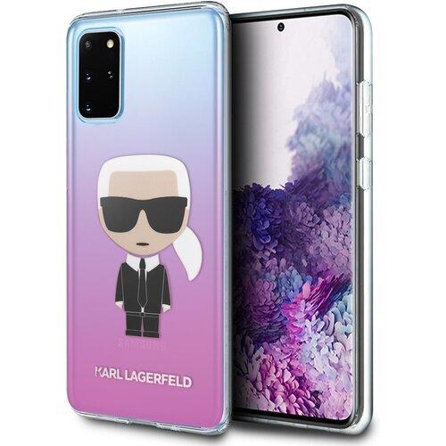 Karl Lagerfeld Case SAM S20+ Rose Full body
