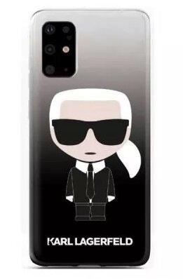 Karl Lagerfeld case SAM S20 Ultra Black Full body