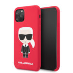 Karl Lagerfeld Iconic Body Kryt pro iPhone 11 Pro Max Red