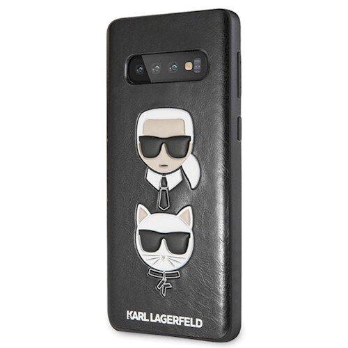 Karl Lagerfeld Samsung S10 black hard case Karl & Choupette