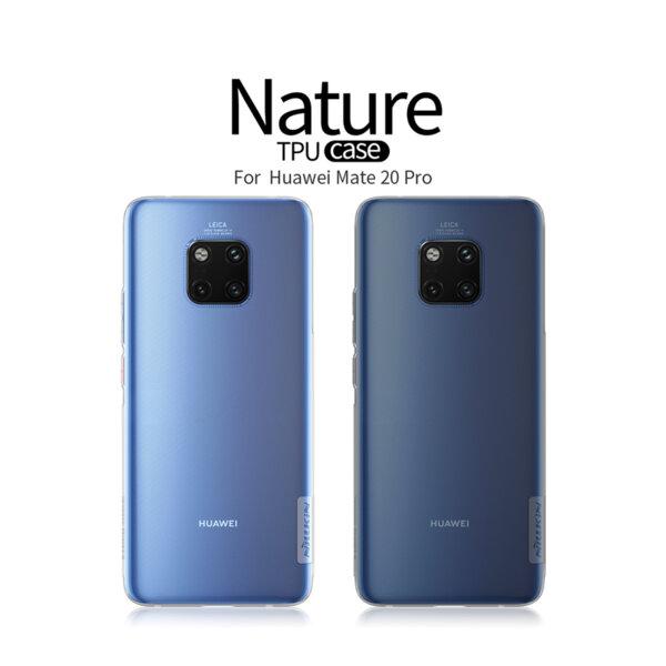 Nillkin Nature tpu case Huawei Mate 20 Pro Transperant