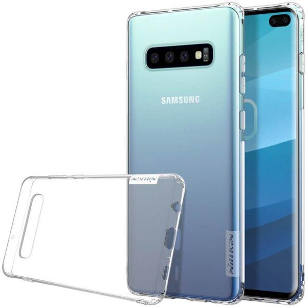 Гръб за Samsung Galaxy S10 plus Nillkin nature tpu case - Прозрачен