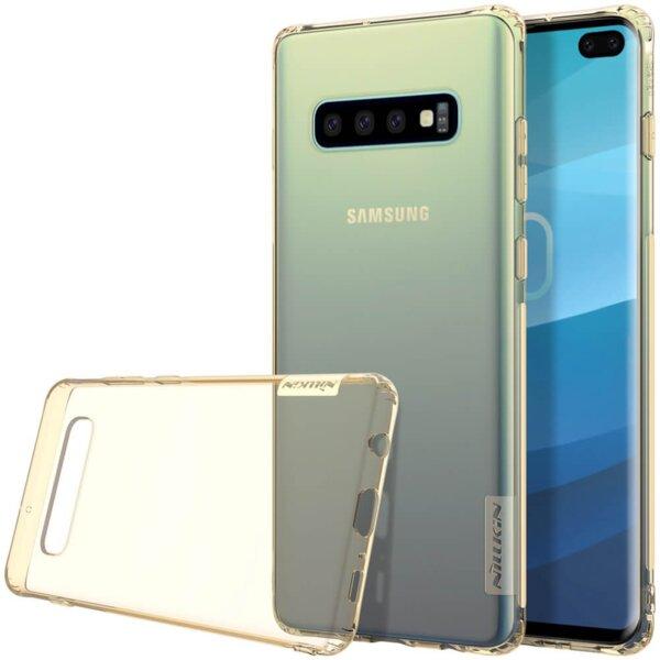 Гръб Nillkin Nature за Samsung G975 S10 Plus - Златист