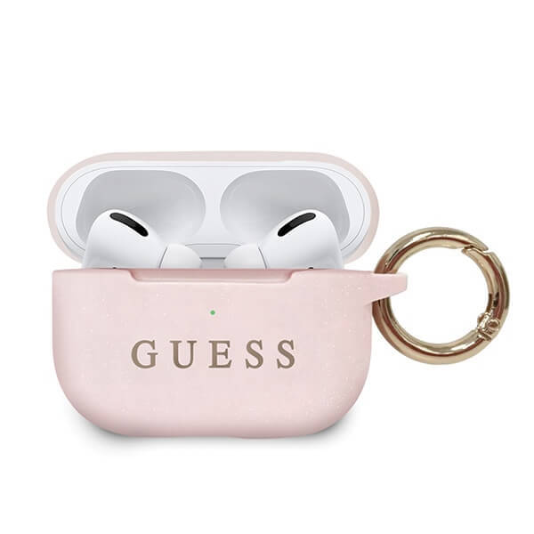 Guess Silicone Cover for Airpods Pro Light Pink (EU Blister)