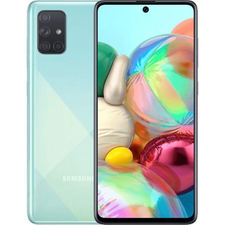 Смартфон Samsung Galaxy A71, Dual SIM, 128GB, 6GB RAM,  Blue