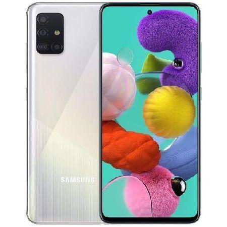 Смартфон Samsung Galaxy A71, Dual SIM, 128GB, 6GB RAM, Silver